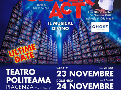 """""""Sister Act"""": il musical cult torna a Piacenza dopo 4 soldout"""