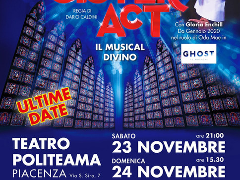 """Sister Act"": il musical cult torna a Piacenza dopo 4 soldout"