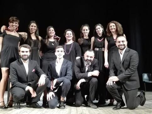 Presentazione in abito lungo di Legally Blonde al Teatro Carlo Rossi Casalpusterlengo!