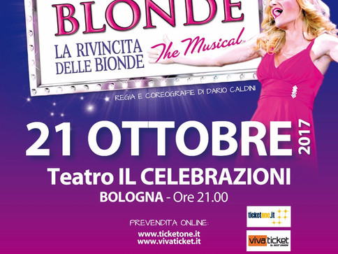 Legally Blonde a Bologna!