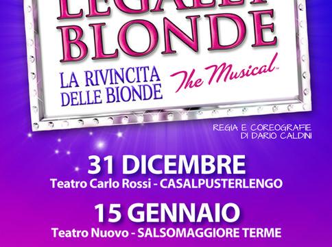 LEGALLY BLONDE il Musical finalmente in Italia con la compagnia I Viaggiattori!