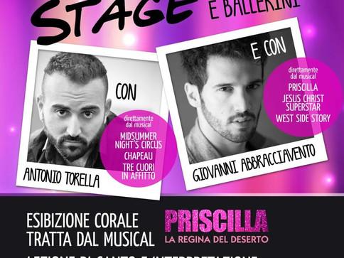 Stage per CANTANTI/BALLERINI a Piacenza