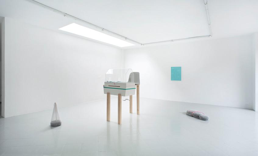 1 - Guendalina Cerruti at Studiolo, Installation view, 2015 - Courtesy Artist and Studiolo