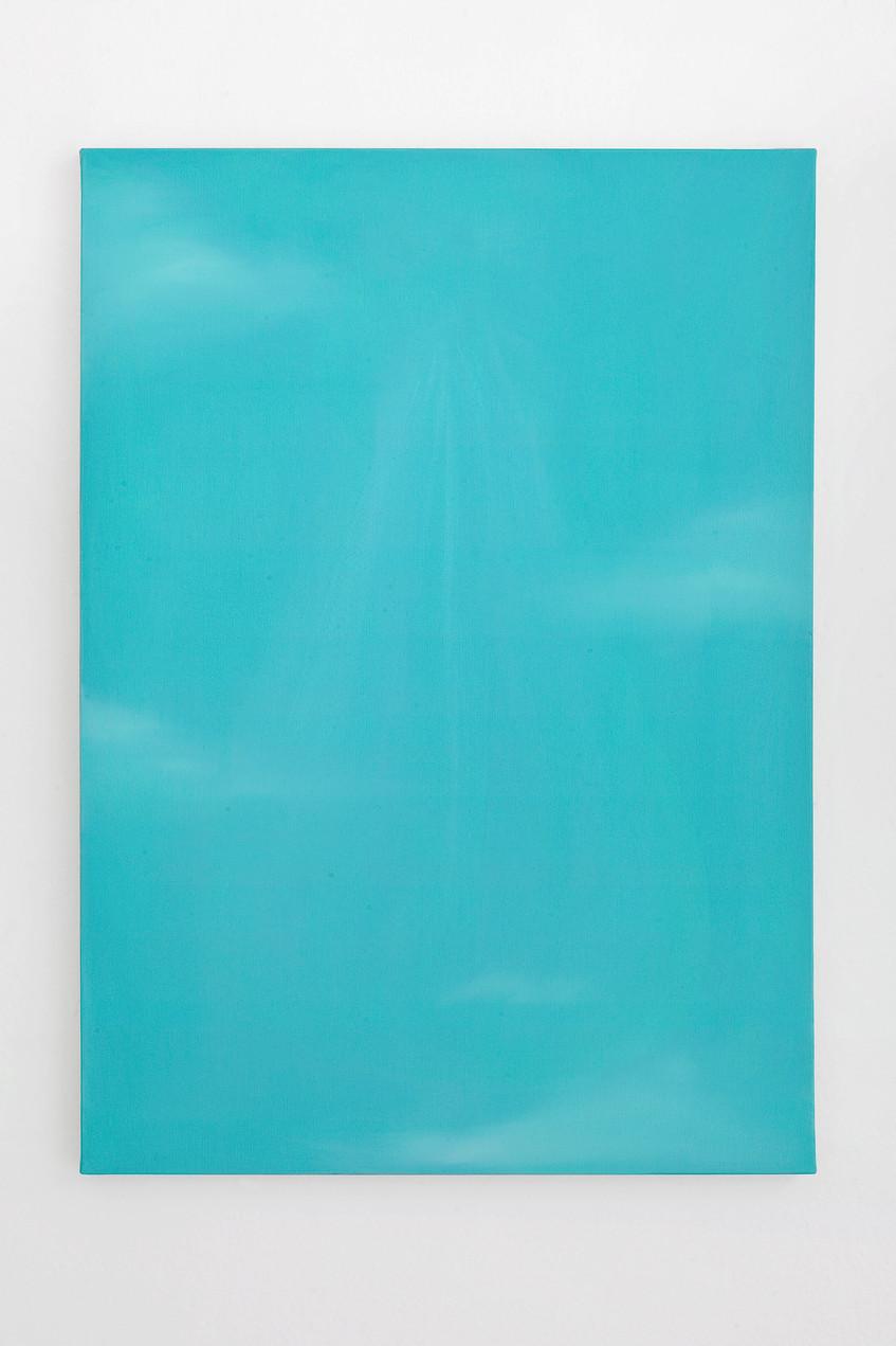 9 - Guendalina Cerruti at Studiolo, Ritratto Fagotto #1, 2015, acrylic on canvas, 70x50 cm