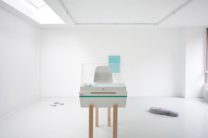 7 - Guendalina Cerruti at Studiolo, Installation view, 2015 - Courtesy Artist and Studiolo