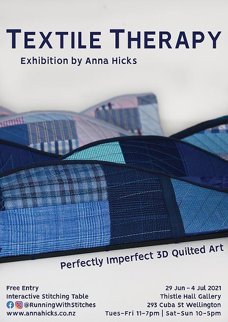 Textile Therapy, 3D quilt art