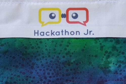 Hackathon Jr Mask - Blue/Green