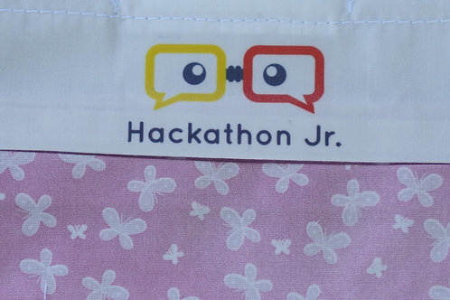 Hackathon Jr Mask - Pink