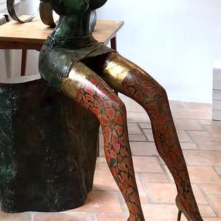 """""""Sirène"""" - Sculpture - Bronze - Pièce unique - DISPONIBLE"""