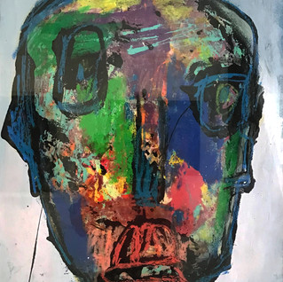 """""""Sans titre"""", 57 cm x 77 cm, technique mixte sur papier Arches, oeuvre originale - DISPONIBLE"""