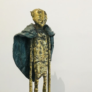 """L'ami des jardins"" - Sculpture - Bronze - Pièce unique- DISPONIBLE"