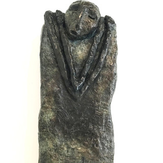 """""""Le doute"""", Bronze, exemplaire 1/8. DISPONIBLE"""
