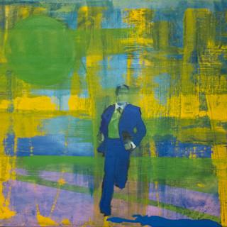 Kenneth Blom,  Encompassing, 50x60 cm