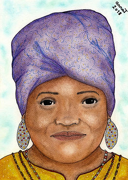 Anna Trew Spirit Artist Lady from Ghana