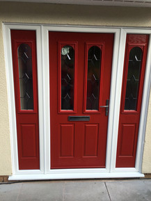 Red Front Entrance