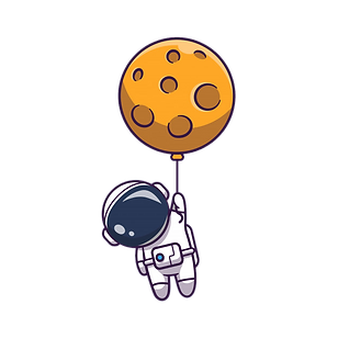 astronaut-floating-with-moon-icon-illust