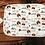 Thumbnail: Custom Name Baby Swaddle - Woodland Buffalo