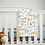 Thumbnail: Custom Name Baby Blanket - Yellow Floral