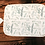 Thumbnail: Custom Name Baby Swaddle - Floral Sage