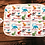 Thumbnail: Custom Name Baby Swaddle - Techno Dinosaurs