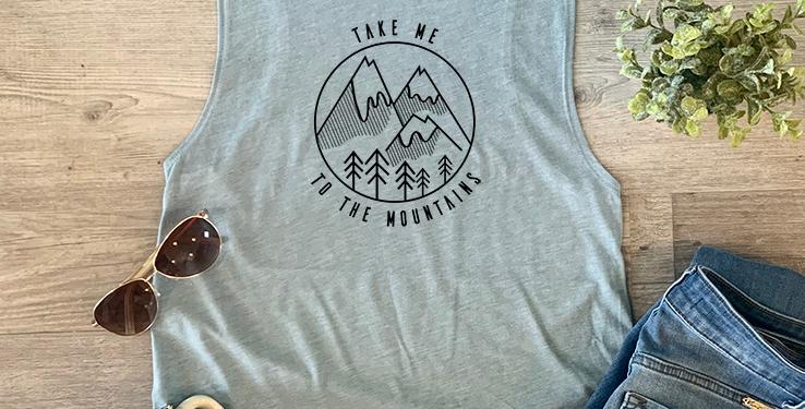 Take Me To The Mountains Tank Top