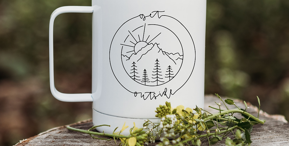 Get Outside Coffee Tumbler