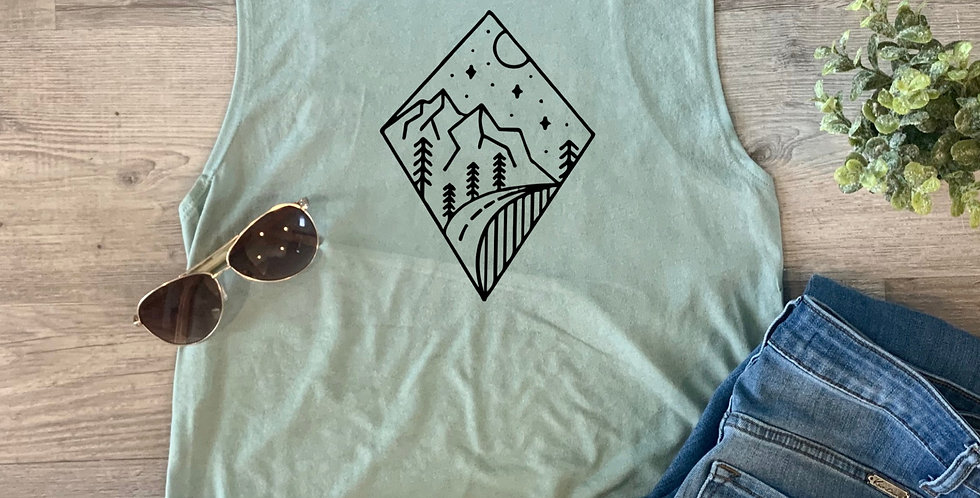 Diamond Adventure Tank Top