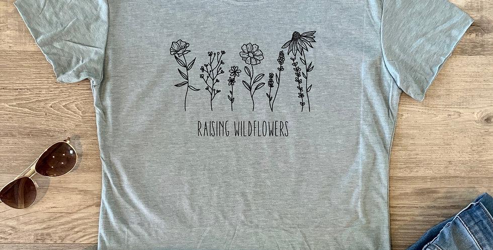 Raising Wildflowers Crop Top