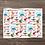 Thumbnail: Custom Name Baby Blanket- Techno Dinosaurs