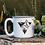 Thumbnail: Triangle Mountains White Campfire Mug
