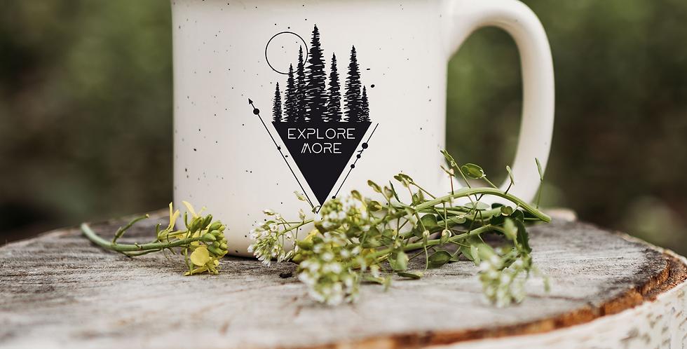 Explore More Triangle Speckled Campfire Mug