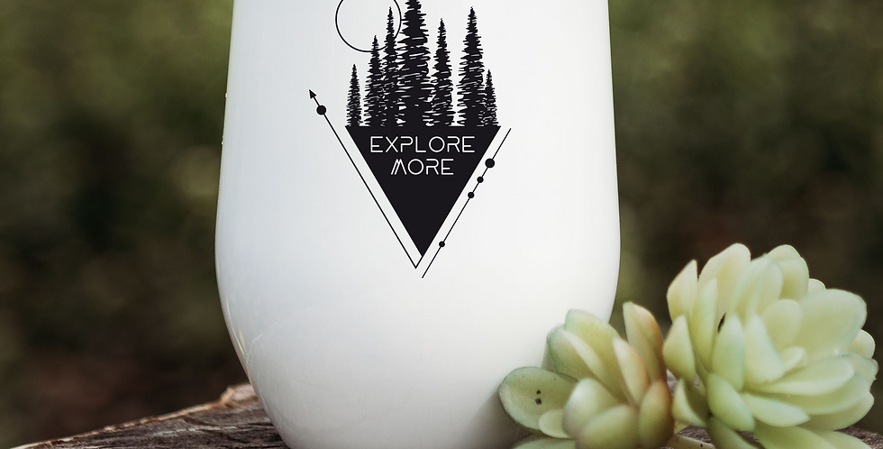 Explore More Triangle Wine Tumbler