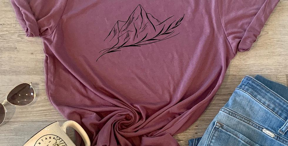 Botanical Mountains T-Shirt