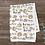 Thumbnail: Custom Name Baby Blanket - Hedgehog