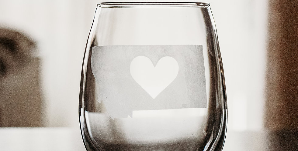 Stemless State Heart