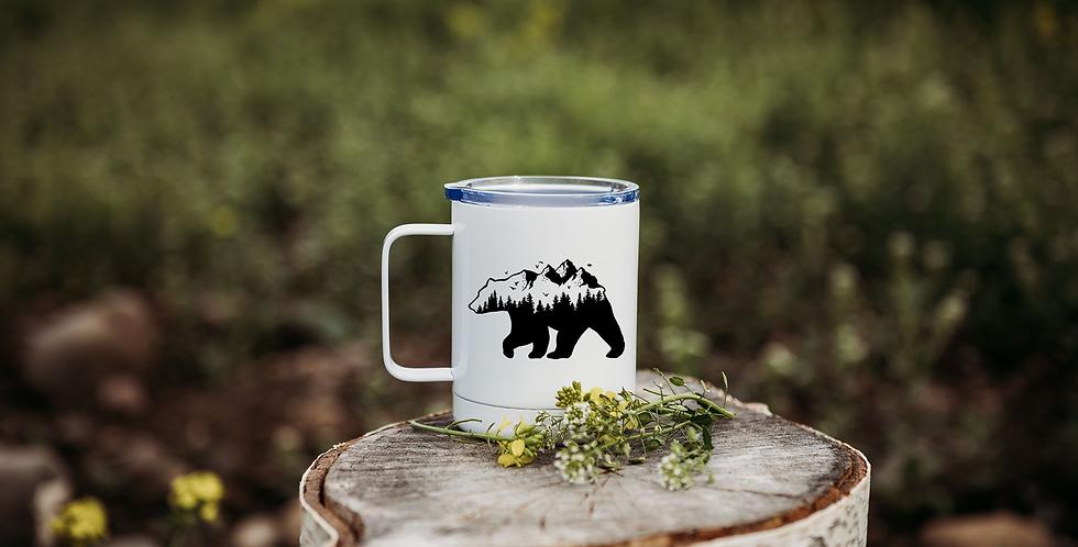 Mountain Bear Coffee Tumbler