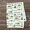 Thumbnail: Custom Name Baby Blanket -  Green Mountain Forest