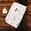 Thumbnail: Custom Name Baby Swaddle - Floral Cactus