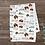 Thumbnail: Custom Name Baby Blanket - Woodland Buffalo