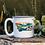 Thumbnail: Montana Illustration White Campfire Mug