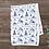 Thumbnail: Custom Name Baby Blanket - Purple Mountain