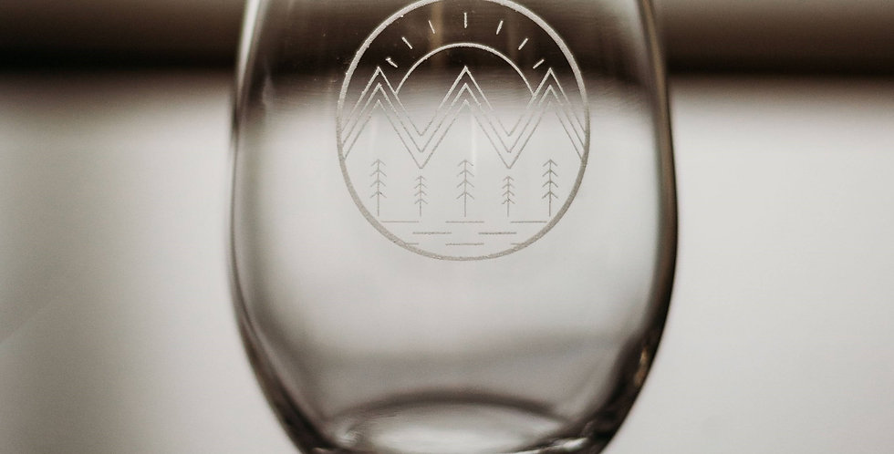 Stemless Circle Mountain Scenery Forest