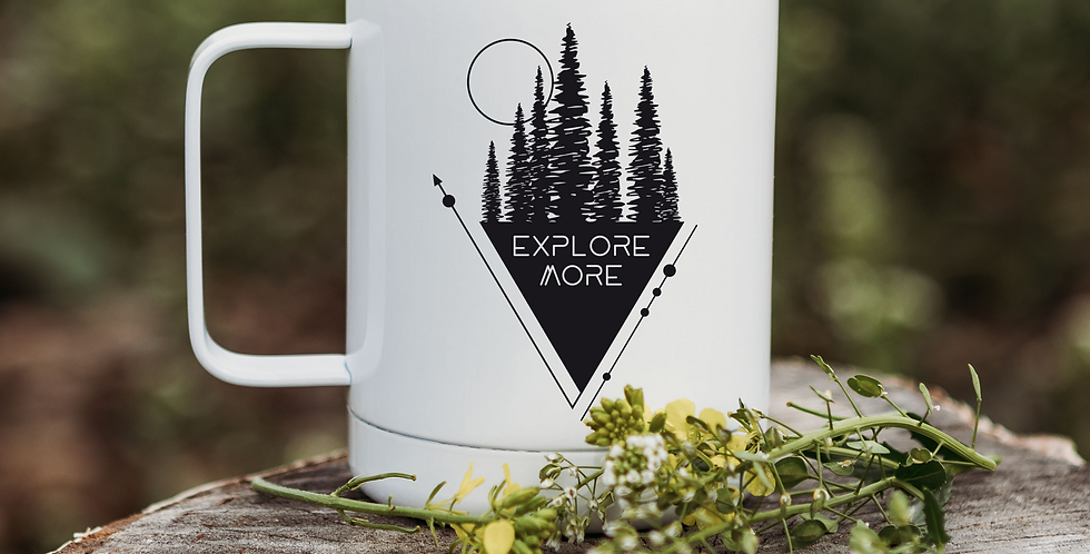 Explore More Triangle Coffee Tumbler
