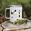 Thumbnail: Floral MT Abbreviations Coffee Tumbler