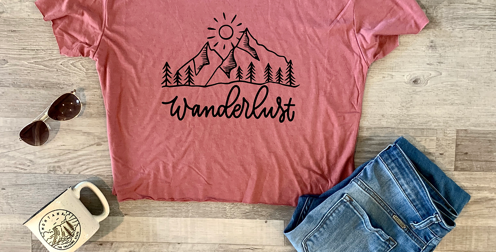 Take Me To The Mountains Crop Top