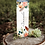 Thumbnail: Name Floral custom 20 oz skinny tumbler