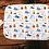 Thumbnail: Custom Name Baby Swaddle - Woodland Bear