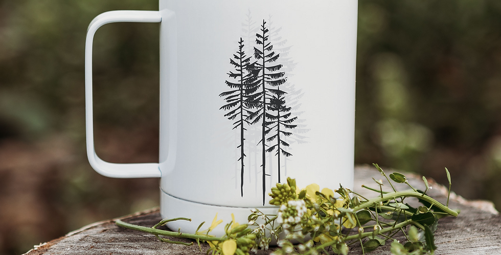 Forrest Reflection Coffee Tumbler