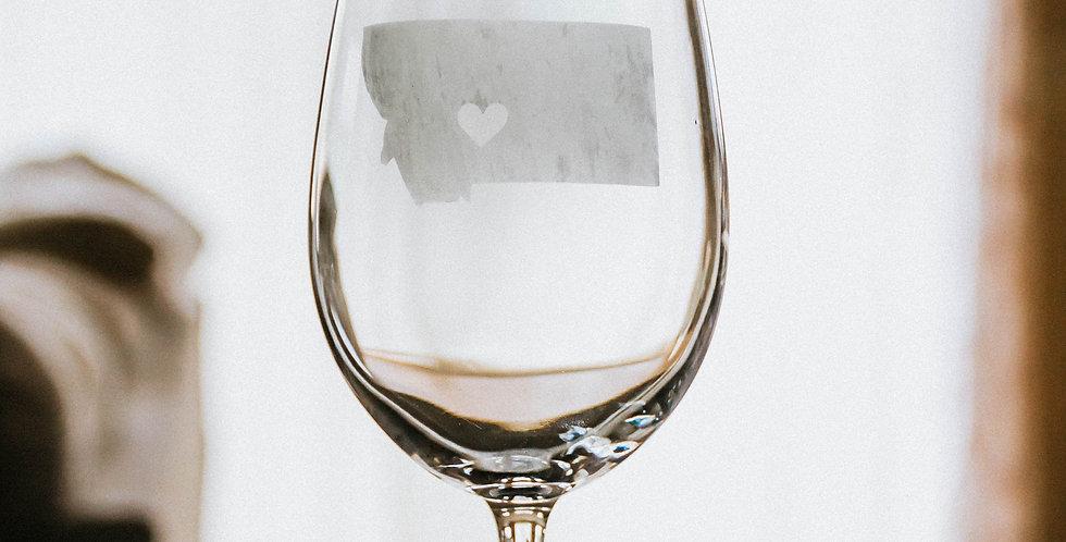 White Wine City Heart