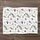 Thumbnail: Custom Name Baby Blanket - Hawaiian Floral